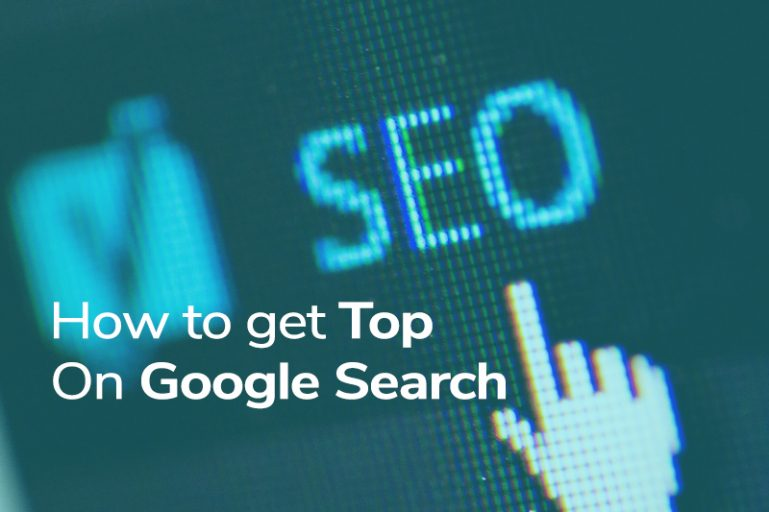 Get top on google search
